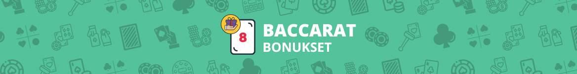 Baccarat bonukset