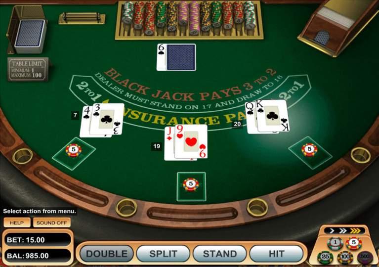 Netticasino Blackjack Betsoft